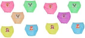MRB Panty & bloomer for Girls - Multi , Set of 10