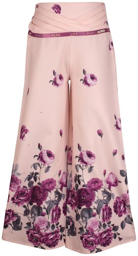 Cutecumber Girl Blended Trousers - Pink