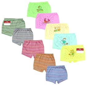 Pride Apparel Panty & bloomer for Girls - Multi , Set of 10