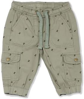 CHEROKEE Baby girl Cotton Printed Shorts - Green