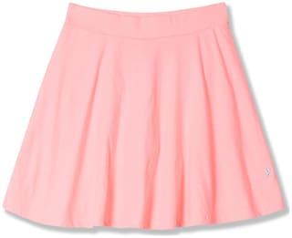 U.S. Polo Assn. Girl Cotton blend Solid Skorts - Pink