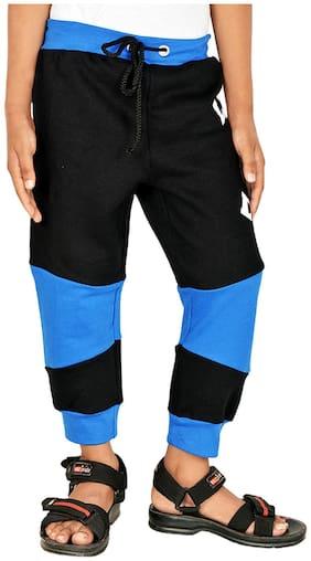 Gkidz Boy Cotton Track pants - Black