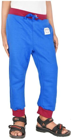 Gkidz Boy Cotton Track pants - Blue