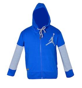 Gkidz Boy Cotton Printed Sweatshirt - Blue