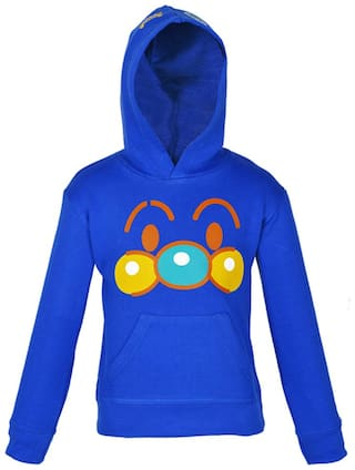 Gkidz Boy Cotton Printed Sweatshirt - Blue