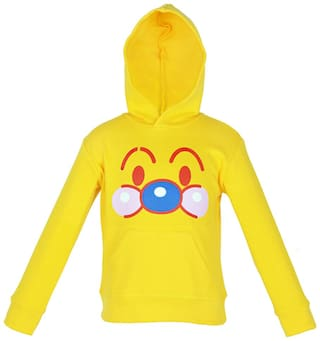 Gkidz Boy Cotton Solid Sweatshirt - Yellow