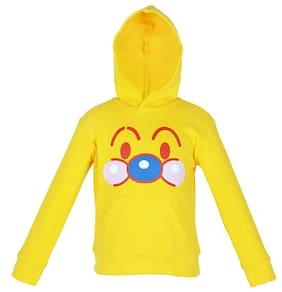 Gkidz Boy Cotton Solid Sweatshirt - Yellow