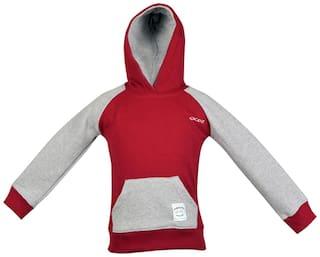 Gkidz Boy Cotton Solid Sweatshirt - Multi