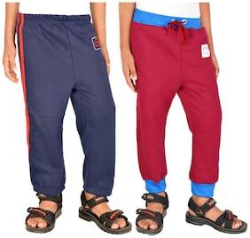 Gkidz Boy Cotton Track pants - Multi