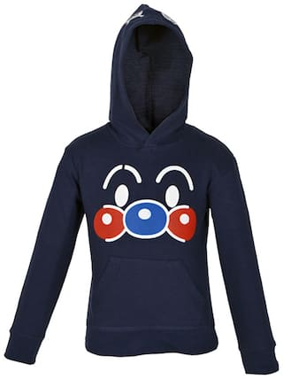 Gkidz Boy Cotton Solid Sweatshirt - Multi