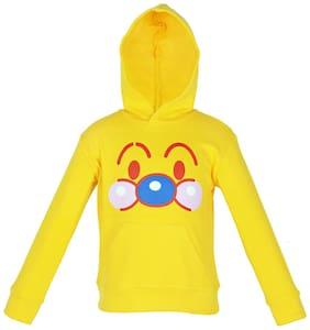 Gkidz Boy Cotton Printed Sweatshirt - Yellow