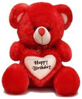 Gking Red Teddy Bear - 60 cm