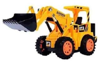Glambella Remote Control Cheetah JCB Construction Truck, Yellow