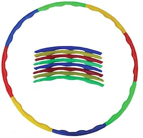 Glitter Collection Multi Colour Hula Hoop