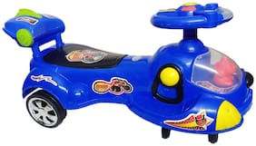 Glowbird Blaze Magic Car for Kids with Lighting and Sound ( Blue )
