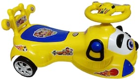 Glowbird Dog Magic Car for Kids with Lighting and Sound ( Yellow )