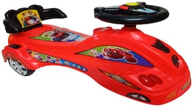 Glowbird Mercdes Magic Car for Kids with Lighting and Sound ( Red )