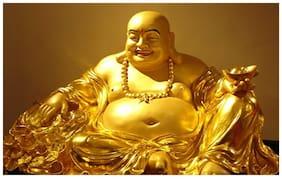 God Buddha sticker for room