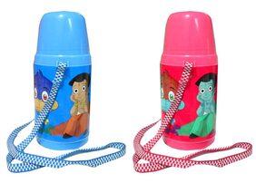 Goldcave Cartoon Water Bottle -Each 500 ml -Set Of 2