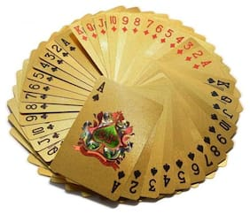 Golden Gold Plated Playing Cards