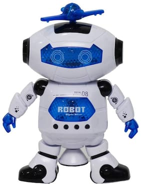 GoodEase Electronic walking dancing robot for kids  (Multicolor)