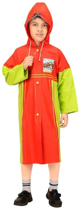 Goodluck Boys Full Sleeve Raincoat