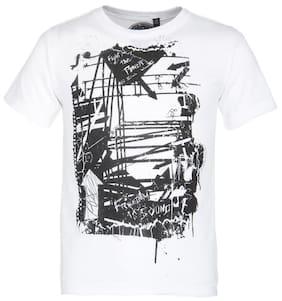Grain Boy Cotton Solid T-shirt - Black