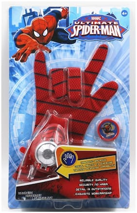 GRAN Ultimate Spider-man Glove Disc Launcher