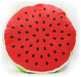 Grapits Soft Creative 3D Printed Watermelon Fruit Pillow Round (1 pcs)