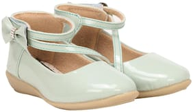 Buckled UP Green Girls Sandals
