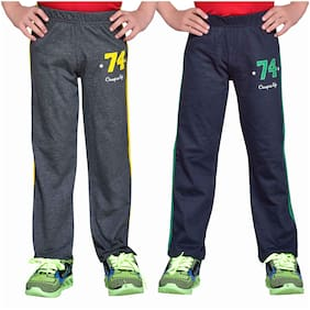 Greenwich Boy Cotton Track pants - Multi