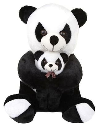 f5be8dc59b15 GVMC Toys Cute Black & White Panda with Baby Soft Teddy Bear - 60 cm