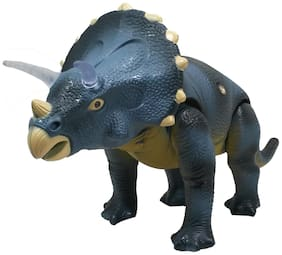 HALO NATION Dinosaur Triceratops - Remote Control - Real Sound and Movements - Jurassic Park Theme