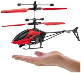 Hand Sensor Helicopter For Kids (Assorted Color)