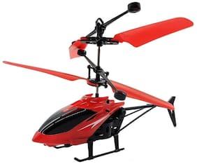 Kanchan Toys Hand Sensor Helicopter For Kids (Red)
