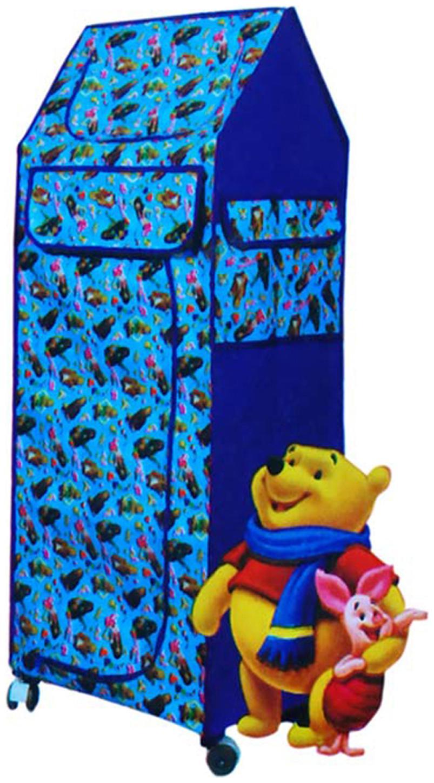 Handloomdaddy Kids Folding Almirah/Shoe Rack