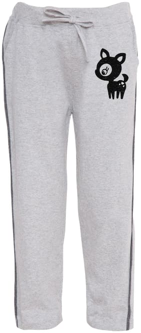 HAOSER Boy Cotton Track pants - Grey