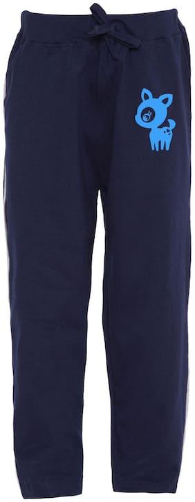 HAOSER Boy Cotton Track pants - Blue