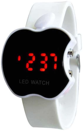 HAPPINESS White Apple Led Watch