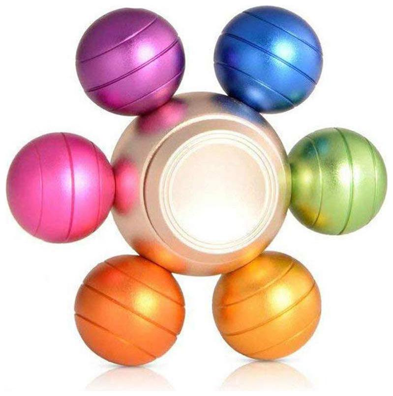 Happy2Buy Fidget Spinner;Rainbow Anti Anxiety Spinner [Metal Fidget Toy] Colorful Hand Spinner for Relieving ADD;ADHD;Anxiety;Autism and Boredom  Mult