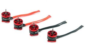 Happymodel SE0603 Mini Brushless Motor for Aircraft Model KV19000 1mm Shaft(Fire Engine Red)