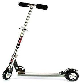 Heavy Metallic Big Size  Height Adjustable 3 Wheeler Scooter