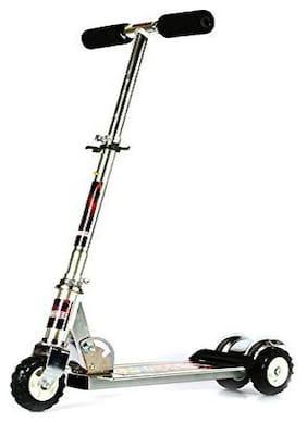 Heavy Metallic Big Size 3 Wheel Height Adjustable Scooter