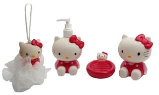 Hello Kitty Character Bathroom Set For Kids Bath Toy