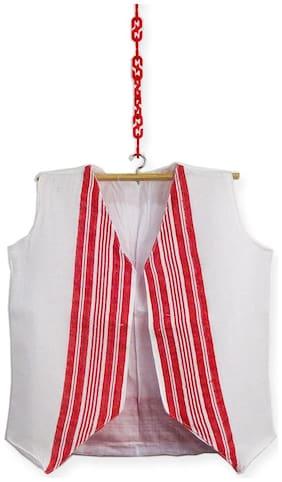 HEYUZE Kids Boys Girls Cotton Sleeve Less Assamese Gamusa Waist Coat