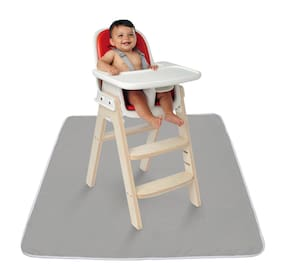 "High Chair Floor Mat Easy Cleaning Snack Mat Baby Toddler Kids Feed 42"" Gift New"