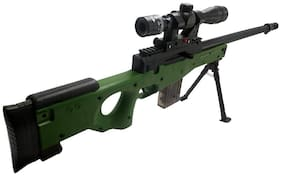 High Grade Sniper Gun Toy - Big Size with Laser Target & Bullets - Play Toy Gun (72 cm Length)