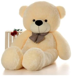 Gking Cream Teddy Bear - 91 cm