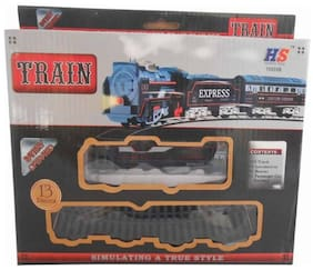 High Speed Metro with Round Track Battery Operated Train Set With Head Light WWQ-20