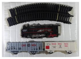High Speed Metro with Round Track Battery Operated Train Set With Head Light WWQ-11